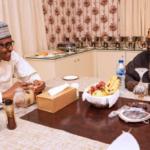 Ramadan: Buhari Meets Tinubu, Breaks Fast (Photos)