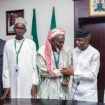 Osinbajo Hails 83-Year-Old Muslim Cleric Who Saved Christians In Jos