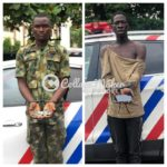 Fake soldier, robber arrested in Lagos