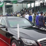 Buhari Marks 'Low-Key' Inauguration With N61m 2019 Mercedes Benz