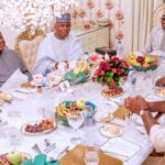 My relationship with NASS leadership not the best, Buhari tells Saraki, Dogara