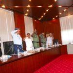 Buhari Tells Service Chiefs To Wake Up