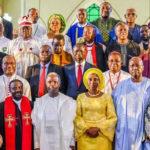 Osinbajo And Wife, Yakubu Gowon, Boss Mustapha, Godwin Emefiele, Others At The Presidential Inauguration Interdenominational Church Service(Photos)