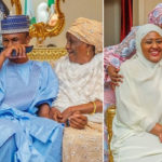 Photos Of President Buhari With His Family Members After His Inauguration