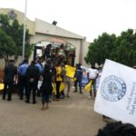 BREAKING: Ondo Youths Shut Down Gov. Akeredolu's Office Over Alleged Diversion Of Funds (Photos)