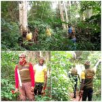 Local Vigilantes Intensify Effort As They Comb Forest To Hunt Fulani Kidnappers In Yoruba Land (Photos)