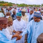 Eid-el-Fitr Celebrations: President Buhari Prays For Nigeria (See Photos)
