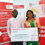 UTME best, Ekene, receives Ghanaian scholarship