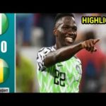 Nigeria v Guinea – African Cup Of Nations Group Match, Scorers And Stats