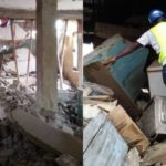 Several People injured as another Building Collapses In Lagos (photos)