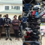 Yahoo Boys Arrested In Kaduna, Exotic Phones & Wristwatches Recovered (Photos)