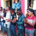 21 Repentant Cultists Undergo Spiritual Deliverance In Ebonyi