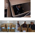 Albanian Migrants Found in Tapped Cardboard Boxes To Be Smuggled to UK (photos)