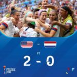 USA Players Celebrate After Winning 2019 Women's World Cup (Photos)