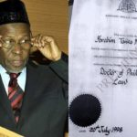 Termites Ate My School Leaving Certificate- Chief Justice Of Nigeria, Tanko Muhammed (photos)