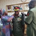Army decorates Adeosun with new ranks