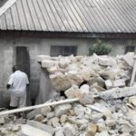 Four children, landlord injured as building collapses in Lagos