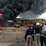 Two die, over 30 vehicles burnt in Lagos pipeline explosion