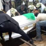 BREAKING: Funeral begins as Owolabi gets full NYSC burial