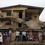 JUST IN: Another building collapses in Lagos