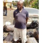 Man arrested with 17 sacks of hemp (photos)