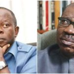 Battle line Drawn Between Edo Govt Obaseki & APC Chairman Adams Oshiomole