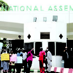 Senator apologises for assault as protest rocks NASS