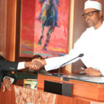 Just in: Buhari swears in Muhammad as substantive CJN