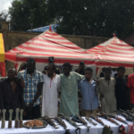 Police parade 13 suspected kidnappers of Daura district head