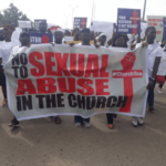 Alleged rape: Anti-COZA Pastor Fatoyinbo's protests in Lagos, Abuja (photos)