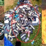 Exam Malpractices: Poly Ibadan Burns Phones Worth Millions Of Naira Seized From Students (photos)