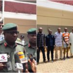 15 suspected killers of ex-CDS Badeh paraded in Abuja (photos)