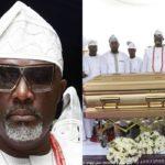 Photos From The Burial Of Senator Dino Melaye's Mum, Madam Comfort Melaye In Kogi State