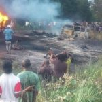 Several Roasted To Death In Benue Tanker Fire