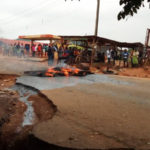 UNIOSUN Students Storm Streets To Protest Arrest Of Students