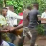 VIDEO: Youth And Elders Of Ogbunka Aguata Fights Over Goat Brought For Marriage Rite In Anambra