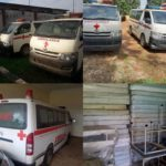 ICPC Uncover Ambulances and Medical Equipments That Were Not Delivered To The Hospitals In Edo (photos)