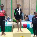 8-Year-Old Nigerian Girl Wins Gold Medal At The African Gymnastics Championship In Pretoria South Africa