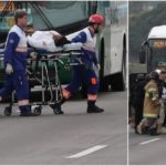 Gunman Holds 16 Bus Passengers Hostage, Threatens To Burn Them Alive (Photos)