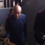 BREAKING: Ex-INEC chair Iwu arrives court for arraignment