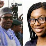 BUHARI APPLAUDS APPOINTMENT OF UK-BORN NIGERIAN KEMI BADENOCH BY BORIS JOHNSON