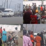 Hoodlums chase EFCC out of Ambode's residence in Epe (photos & video)