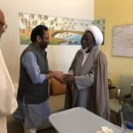 PHOTOS: India's Minister Of Minority Affairs, Abbas Visits El-Zakzaky To Facilitate His Treatment
