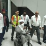 Photos Of Shiite Leader, El-Zakzaky And Wife As They Arrive India For Treatment