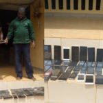 PHOTOS: Police Seize 150 Handsets From Car Snatchers In Anambra
