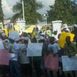 Protesters Block APC Secretariat, Demand Explanation For Irukera's Disqualification