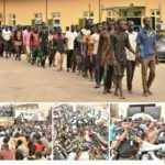 Police Release 123 Intercepted Truck Passengers In Lagos (photos)