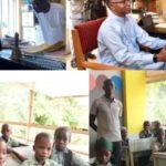 PHOTOS: El-Rufai enrols son in public primary school