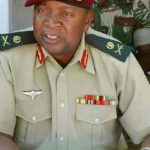 Ex-Zimbabwe Chief of Staff, Major General Trust Mugoba Is Dead Few Hours After Mugabe's Demise