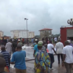 PHOTOS & VIDEO: Fire Guts NNPC Depot in at Apata, Ibadan